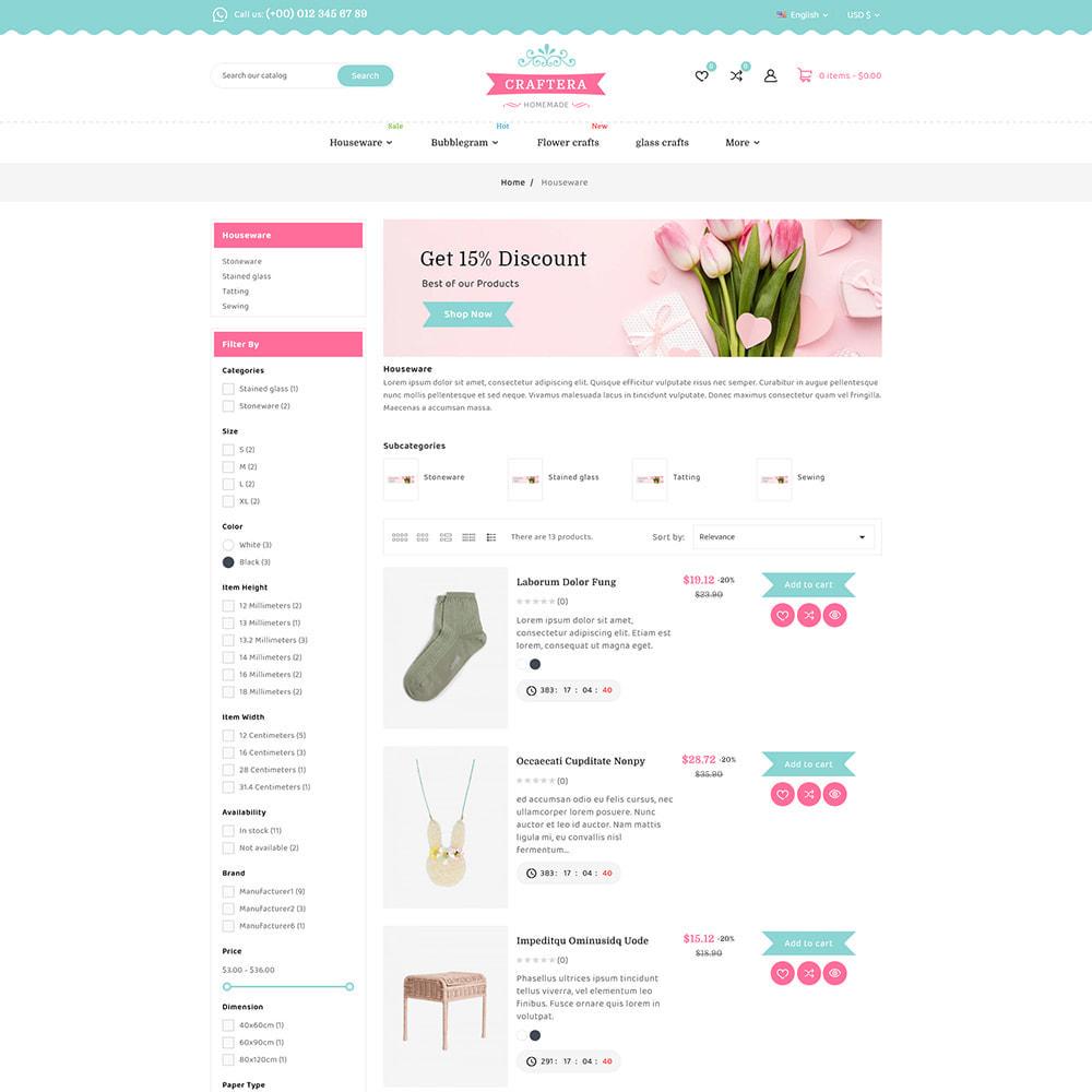 theme - Подарки, Цветы и праздничные товары - Carftera - Gifts Flowers Celebrations Store - 8