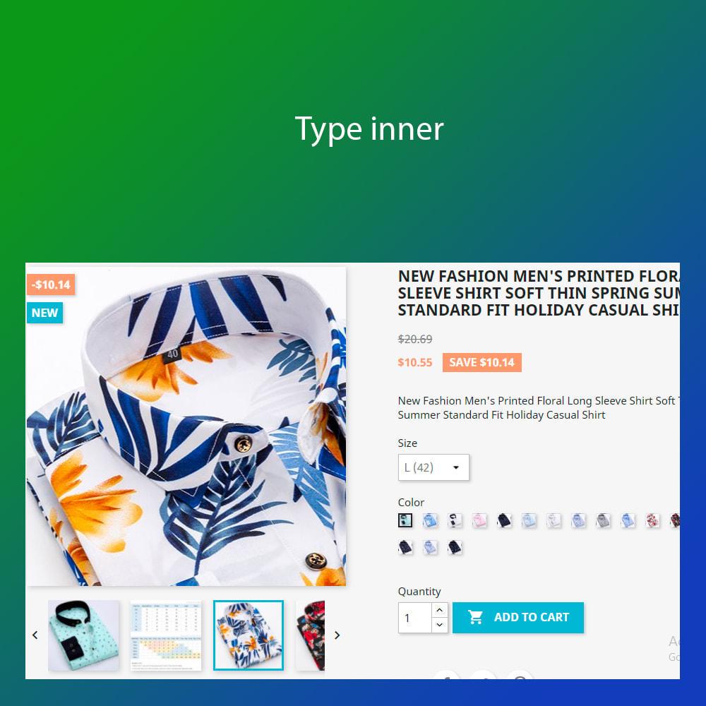 module - Visuels des produits - Advanced zoom image : window, inner, lens - 1