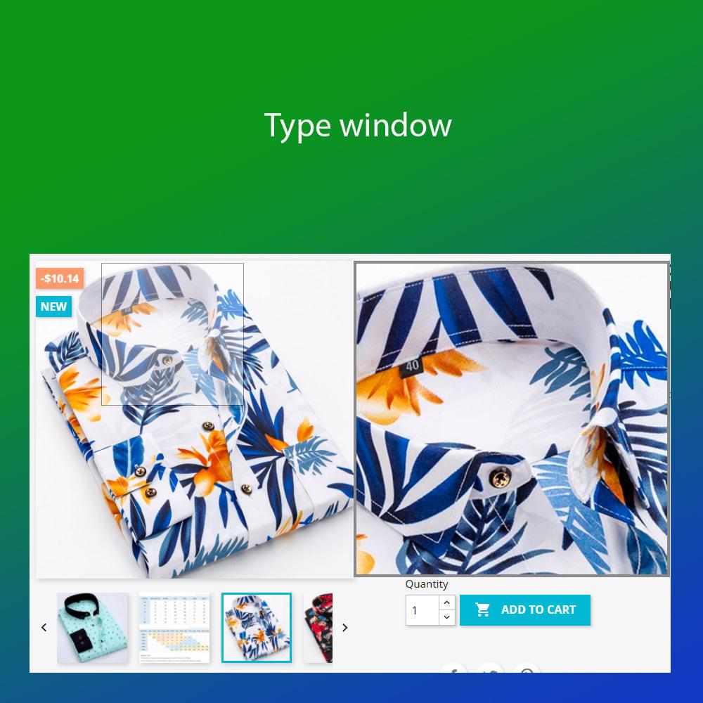 module - Visuels des produits - Advanced zoom image : window, inner, lens - 2