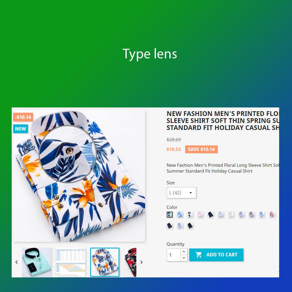 module - Visuels des produits - Advanced zoom image : window, inner, lens - 3