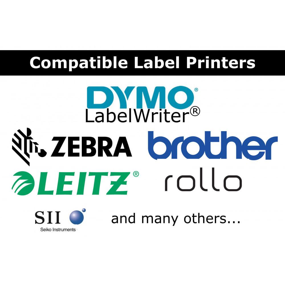 module - Preparação & Remessa - Address / Order Labels - Direct Label Print - 3