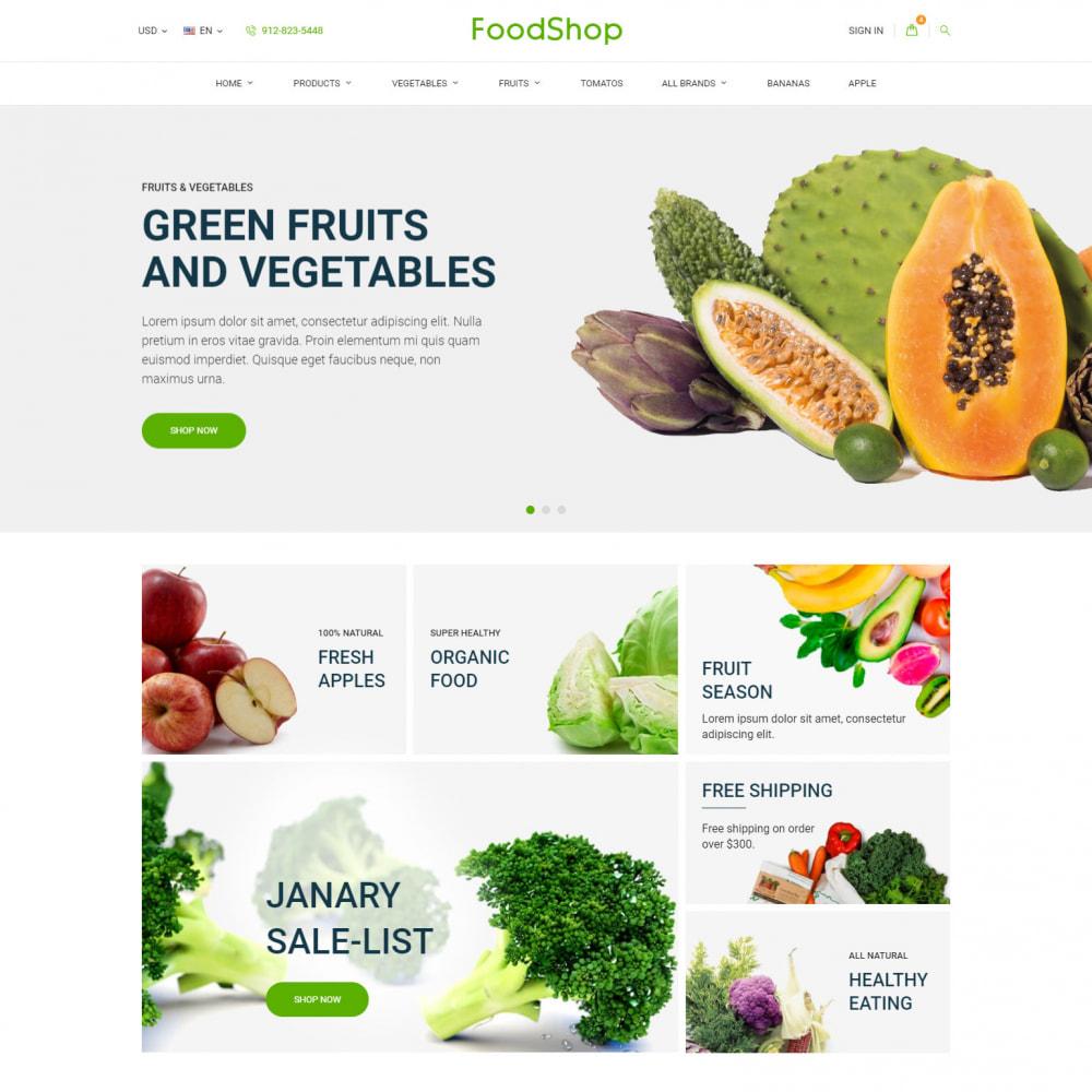 theme - Alimentos & Restaurantes - Organic Garden - Food Store - 2