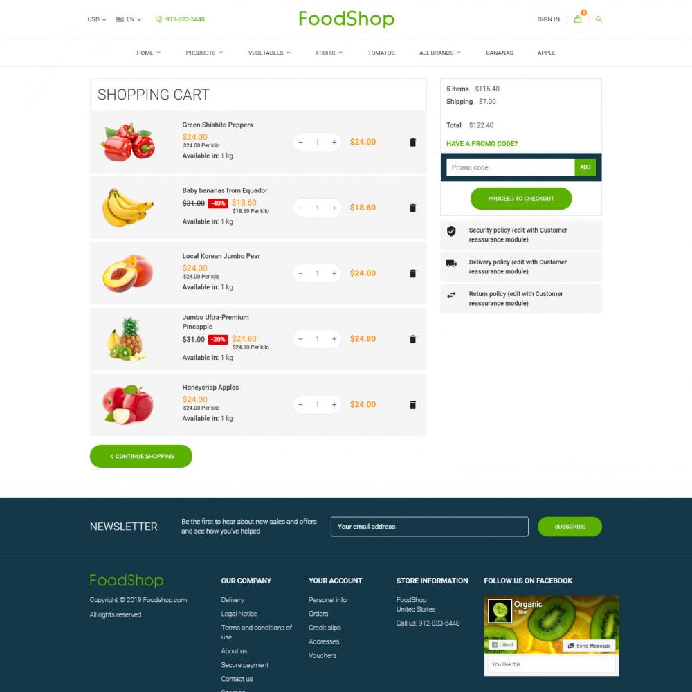 theme - Alimentos & Restaurantes - Organic Garden - Food Store - 9