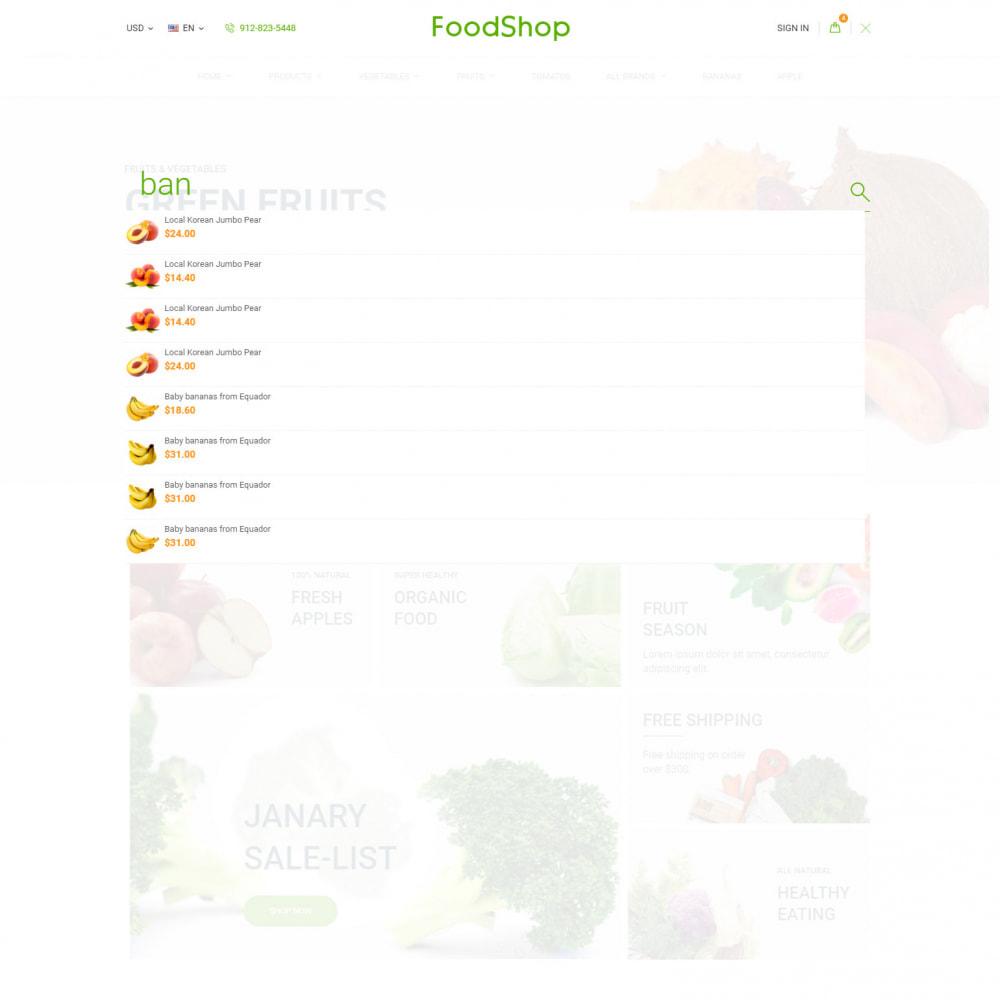 theme - Продовольствие и рестораны - Organic Garden - Продуктовый Магазин - 8
