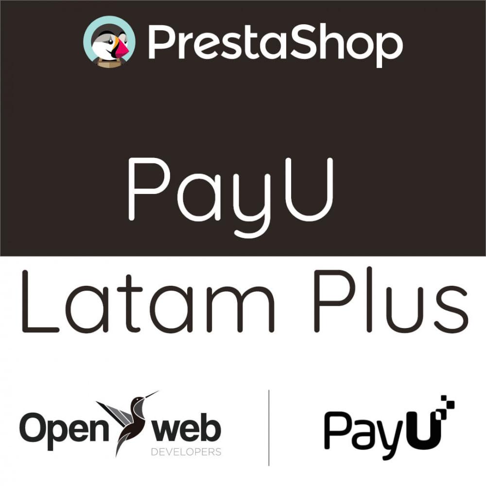module - Zahlung per Kreditkarte oder Wallet - Payu Latam Plus - 1