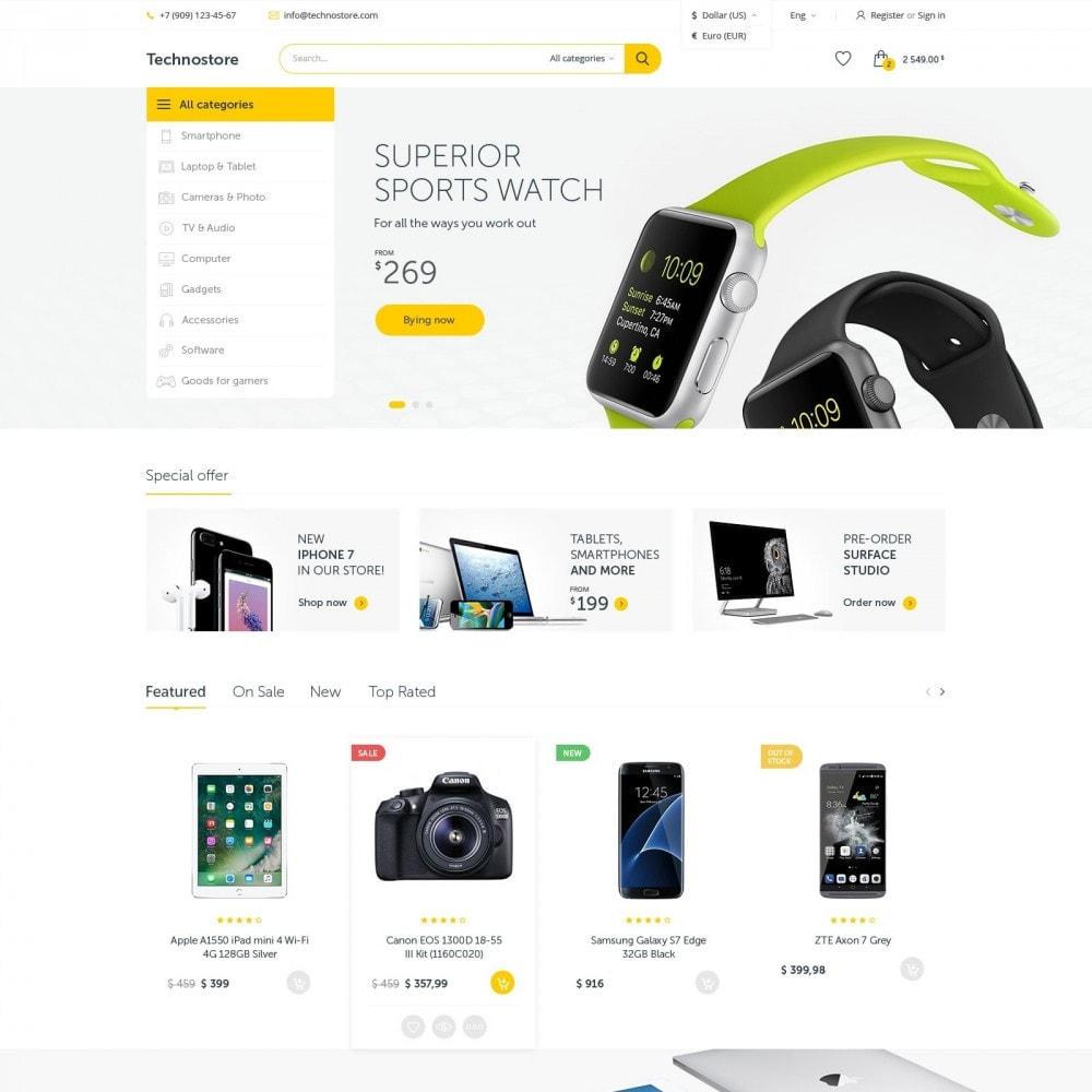 theme - Electronics & Computers - Technostore - Hi-Tech Online Store - 1