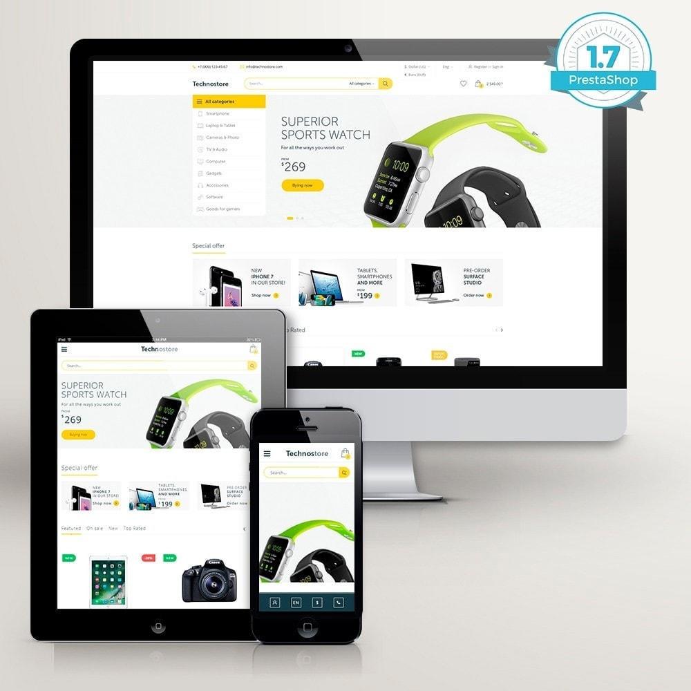 theme - Electronics & Computers - Technostore - Hi-Tech Online Store - 2