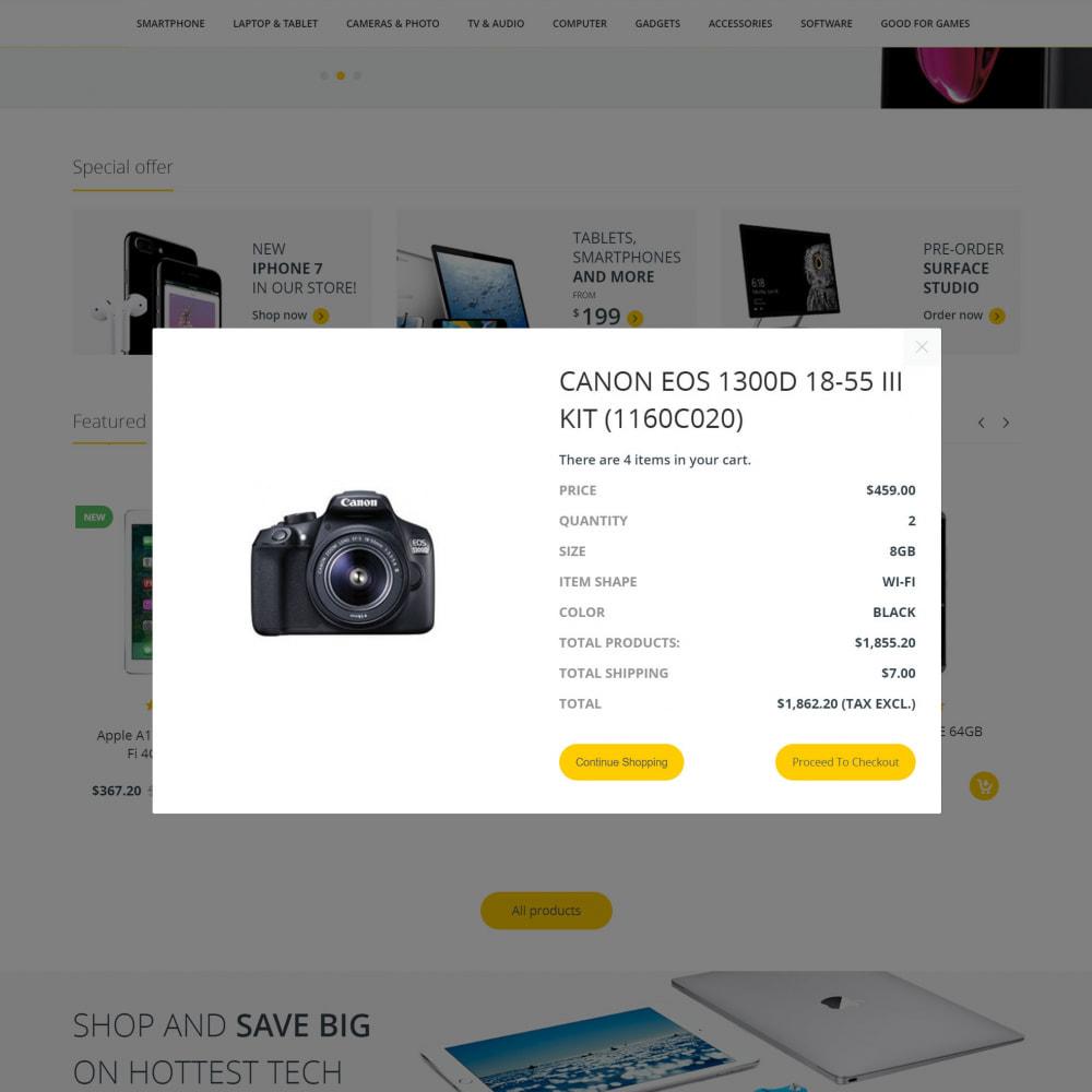 theme - Electronics & Computers - Technostore - Hi-Tech Online Store - 5