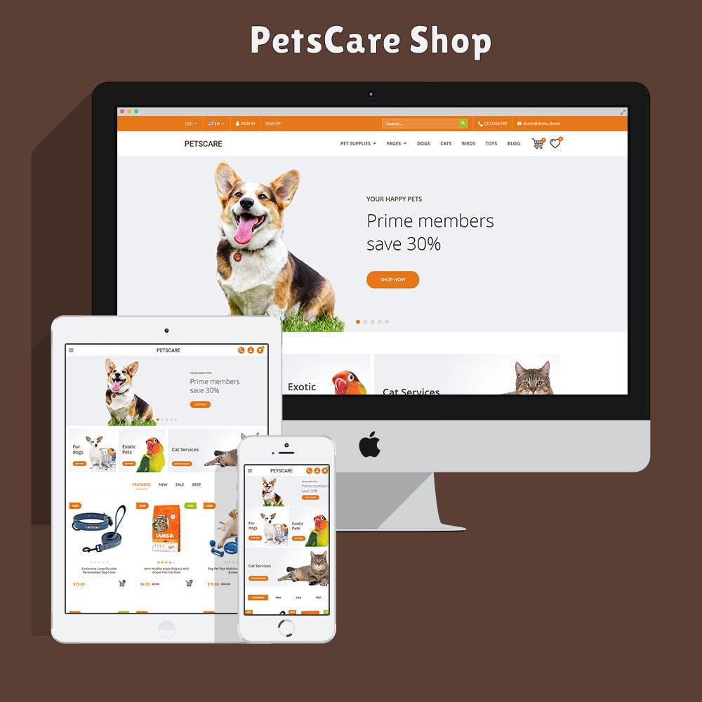 theme - Животные и домашние питомцы - PetsCare - Зоомагазин - 2