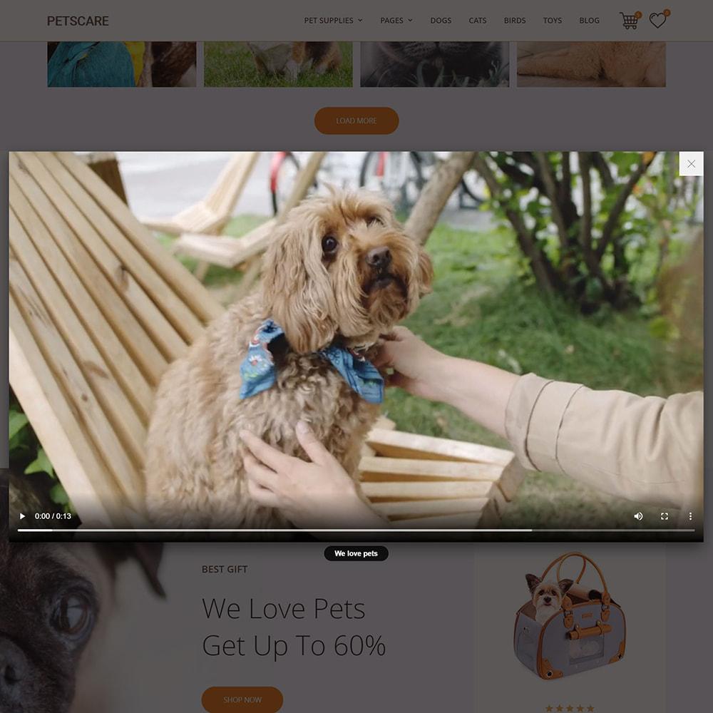 theme - Животные и домашние питомцы - PetsCare - Зоомагазин - 8
