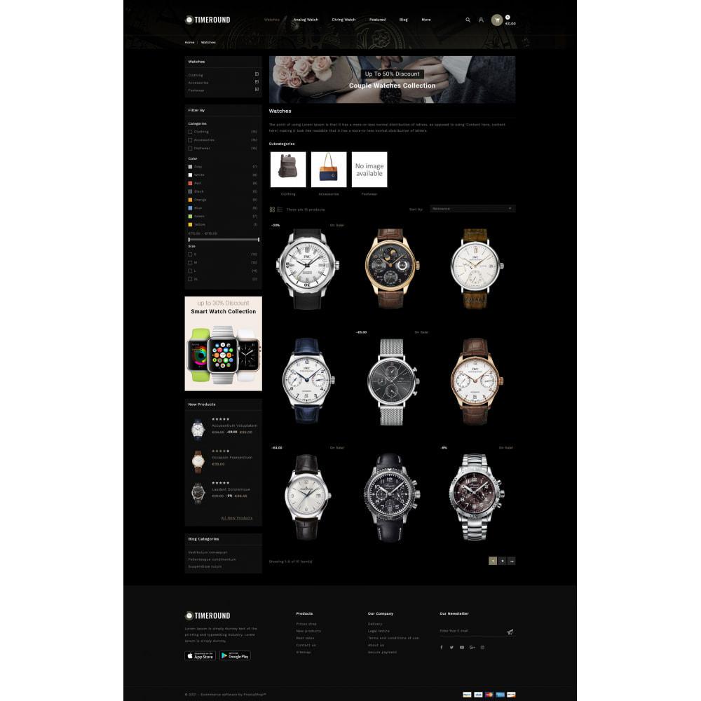 theme - Schmuck & Accesoires - TimeRound - Watch Store - 3