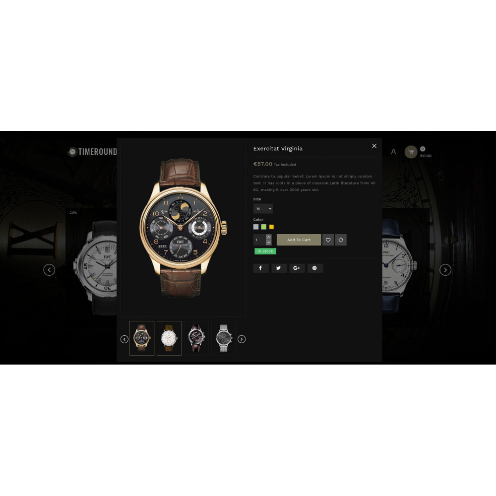 theme - Schmuck & Accesoires - TimeRound - Watch Store - 7