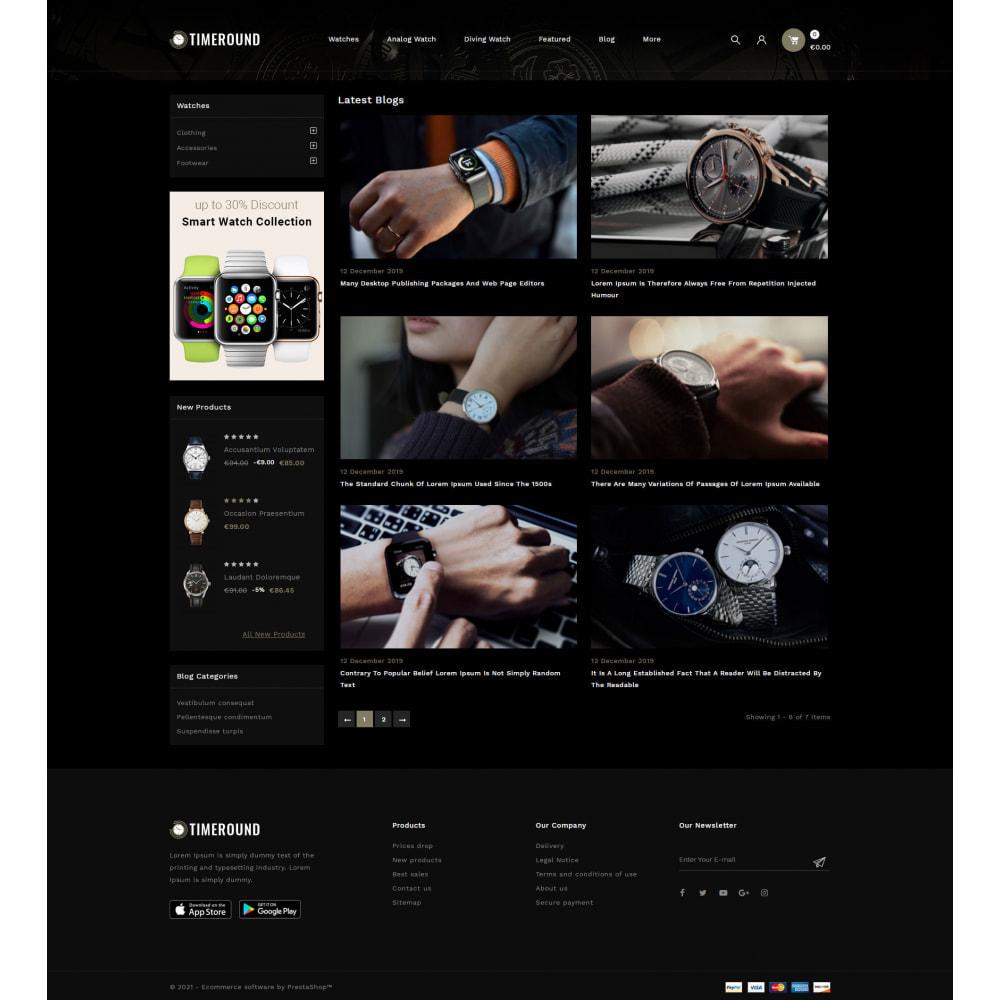 theme - Schmuck & Accesoires - TimeRound - Watch Store - 9