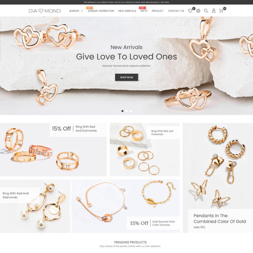 theme - Biżuteria & Akcesoria - Diamond Jewelry & Accessories - Fashion, Watches - 2