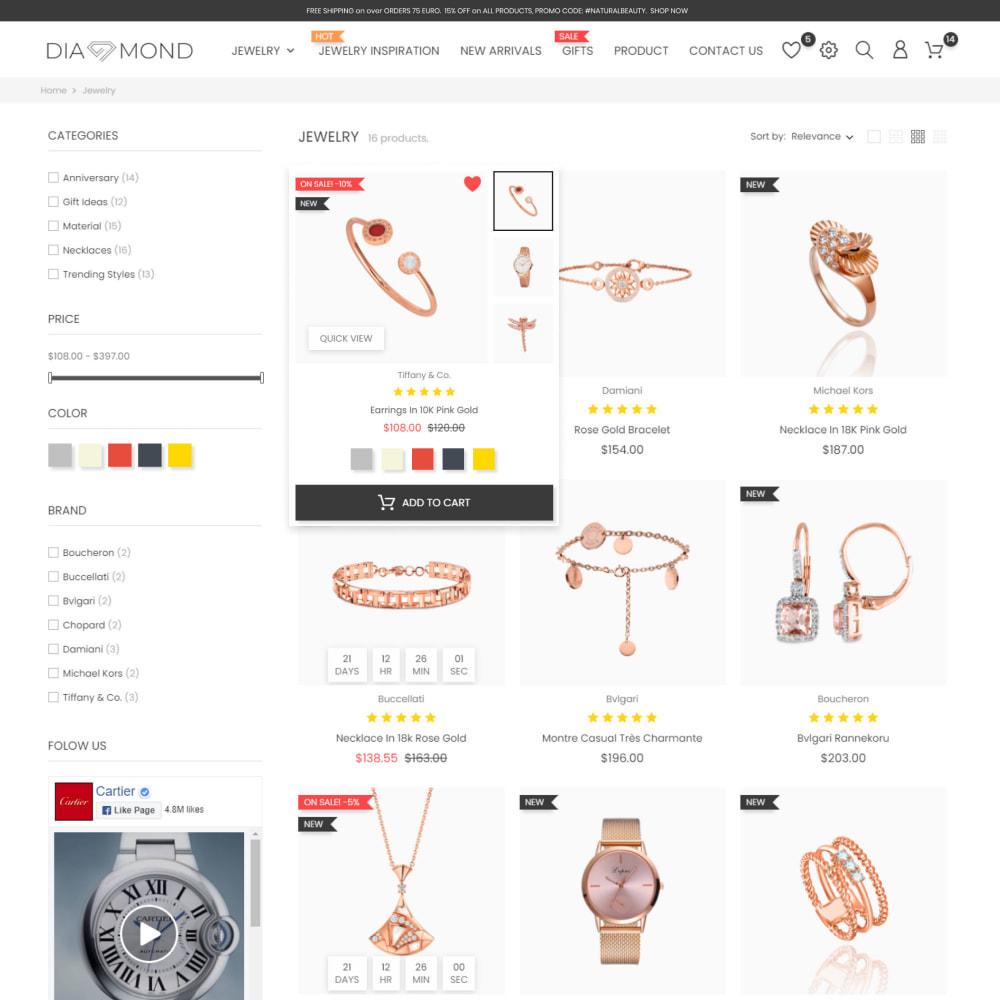 theme - Biżuteria & Akcesoria - Diamond Jewelry & Accessories - Fashion, Watches - 3