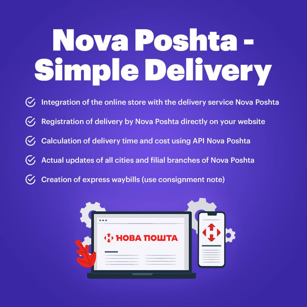module - Tracciamento Spedizione - Nova Poshta - Simple Delivery - 1