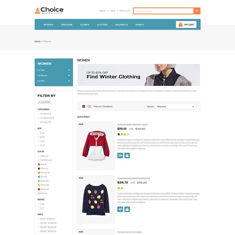 theme - Moda & Calzature - Choice Bag - Negozio di abiti alla moda - 6
