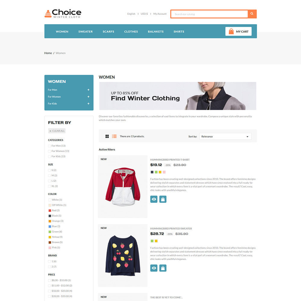 theme - Moda & Obuwie - Choice Bag - Fashion Suits Store - 6
