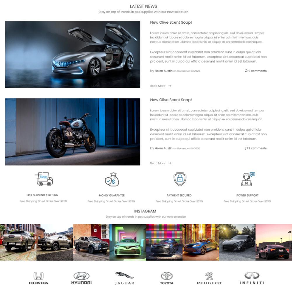 theme - Automotive & Cars - Auto - Car & Bike, Sport & Travel, Games & Art, Garden - 4