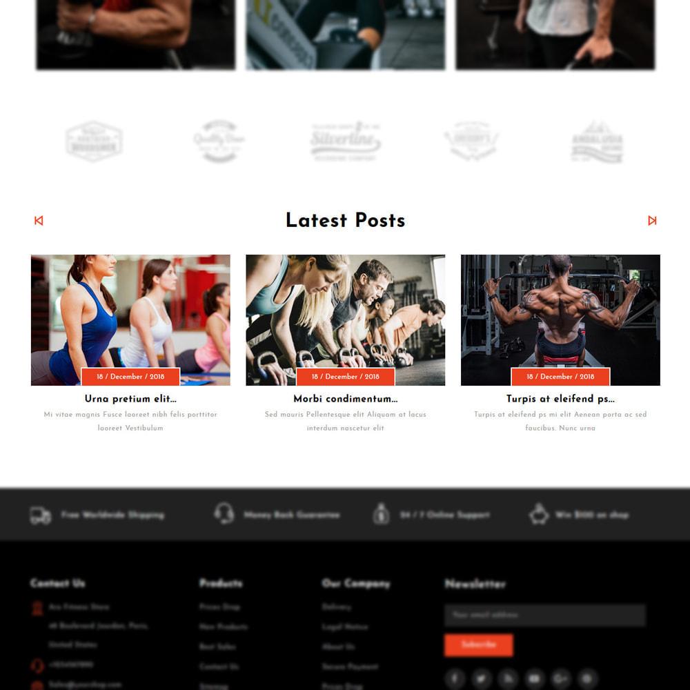 theme - Moda & Calçados - Aro - Fitness Shop - 5