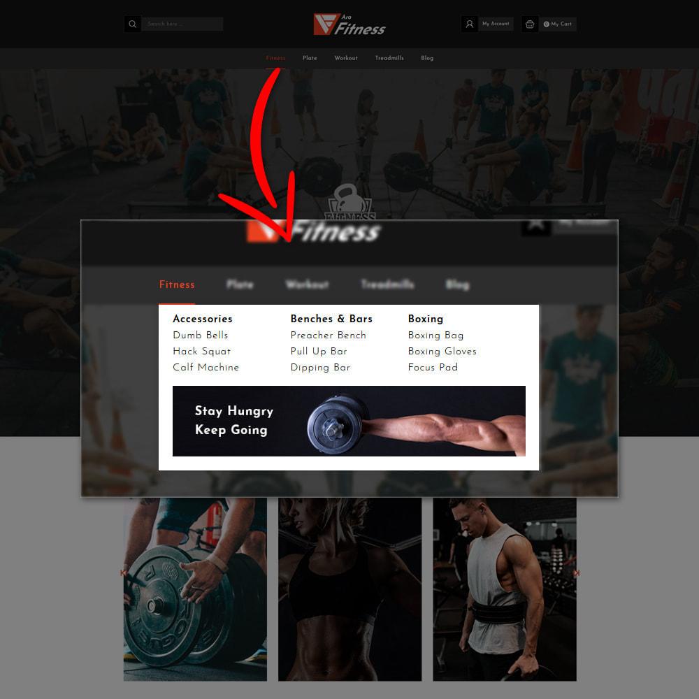 theme - Moda & Calçados - Aro - Fitness Shop - 8