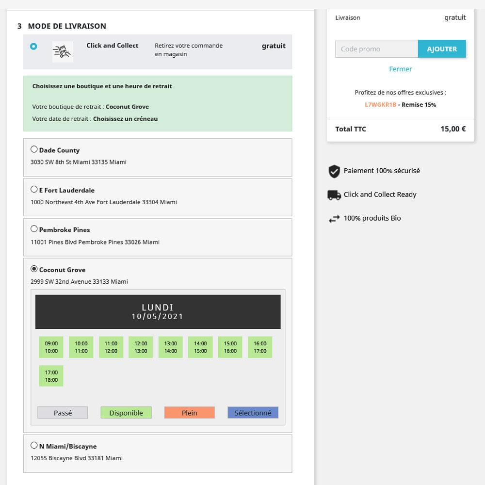 module - Point Relais & Retrait en Magasin - Click & Collect - 2