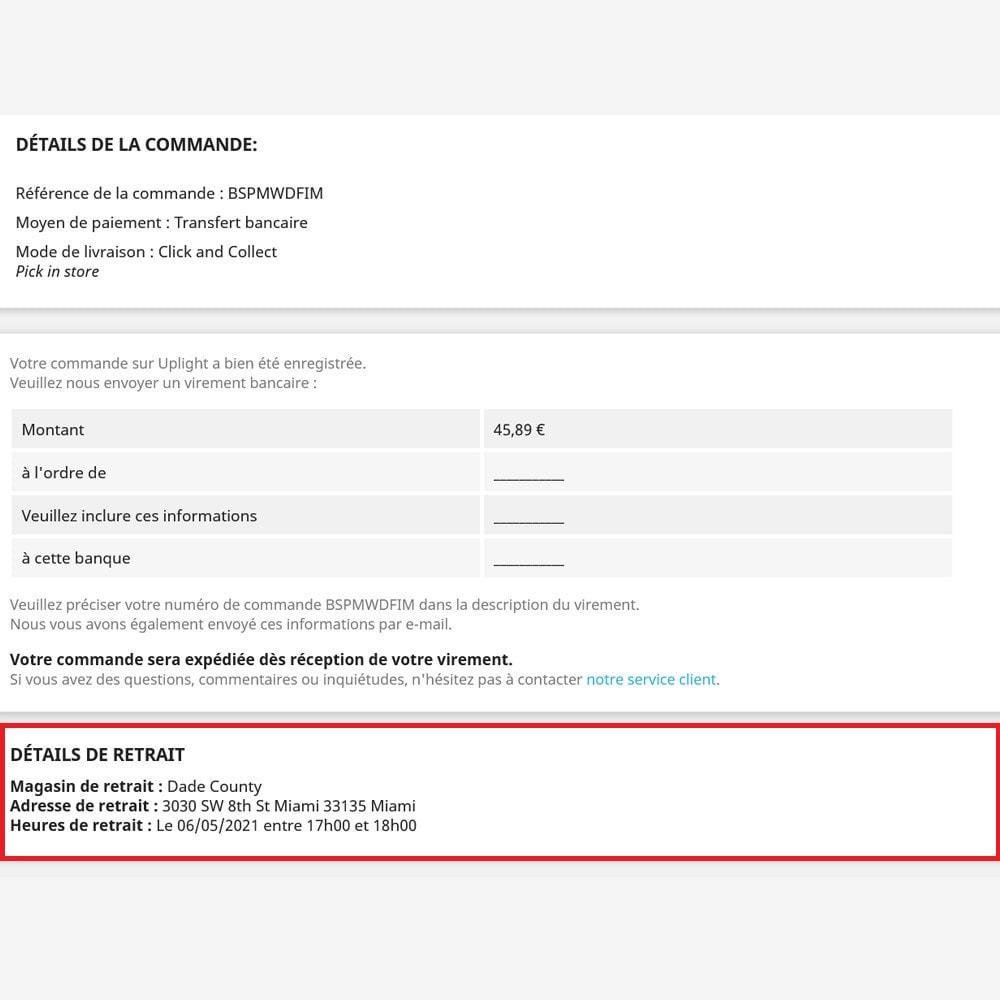 module - Point Relais & Retrait en Magasin - Click & Collect - 3