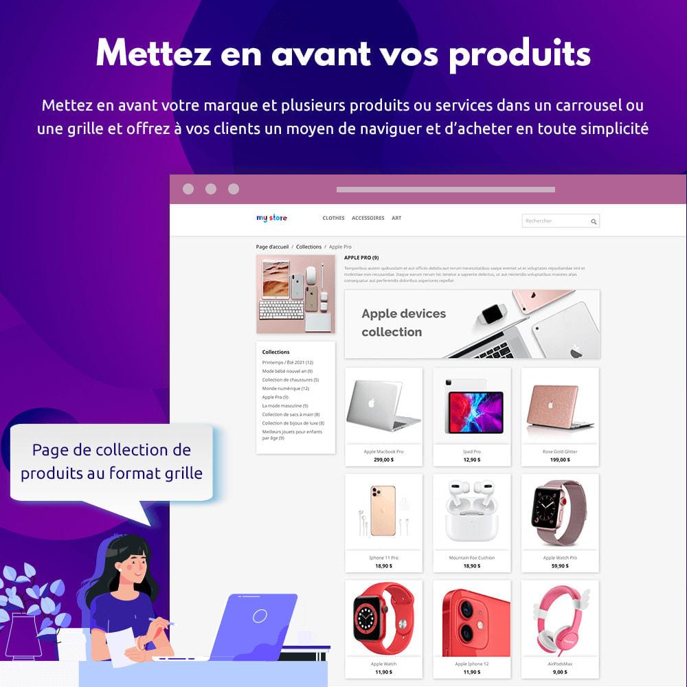 module - Visuels des produits - Collections de Produits - 2