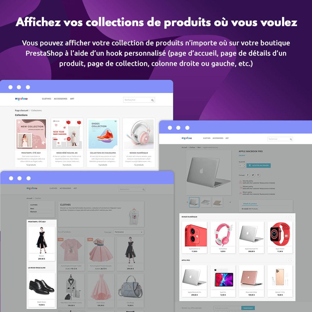 module - Visuels des produits - Collections de Produits - 4
