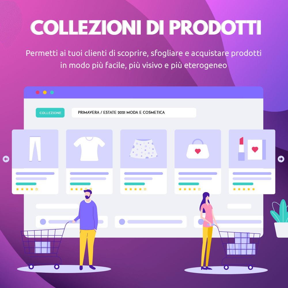 module - Visualizzazione Prodotti - Collezioni di prodotti - 1