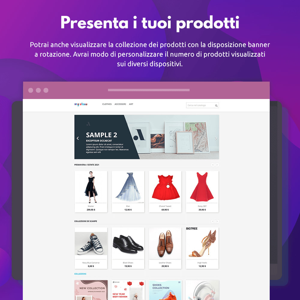 module - Visualizzazione Prodotti - Collezioni di prodotti - 3