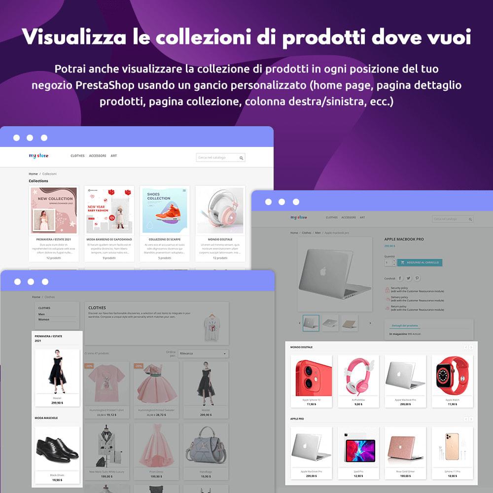 module - Visualizzazione Prodotti - Collezioni di prodotti - 4