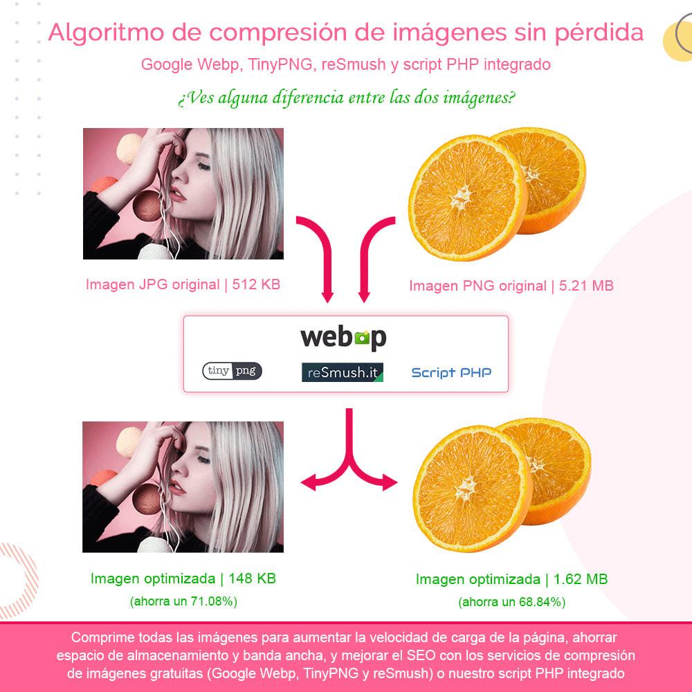module - Rendimiento del sitio web - Total Image Optimization Pro - Compresión sin pérdida - 2