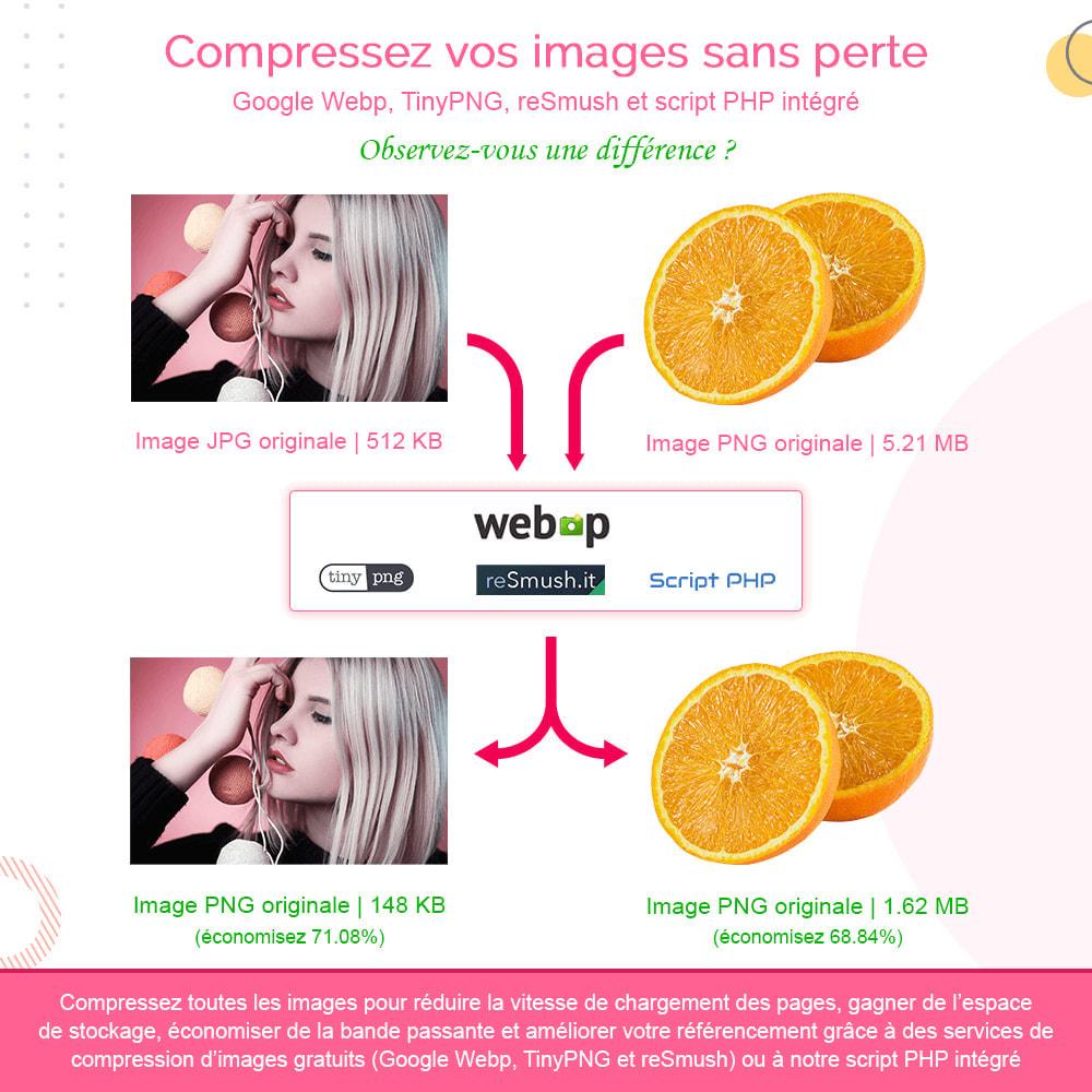 module - Performance du Site - Image Optimization Pro - Compression sans perte - 2