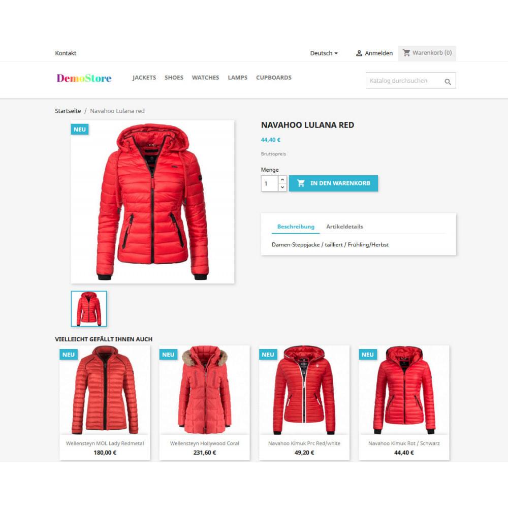 module - Cross-Selling & Produktbundles - Empfehlung ähnlich aussehender Produkte - 1