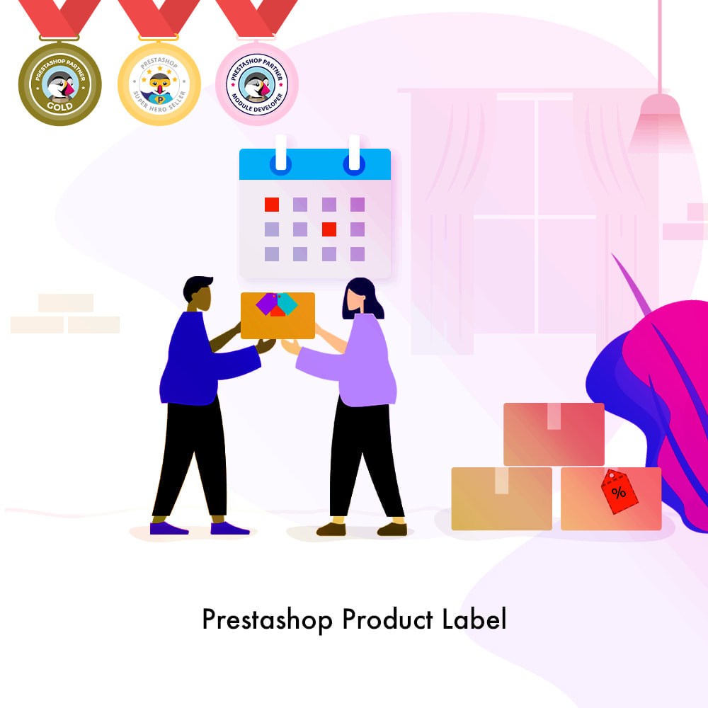 module - Badges & Logos - Product Label | Product Sticker - 1
