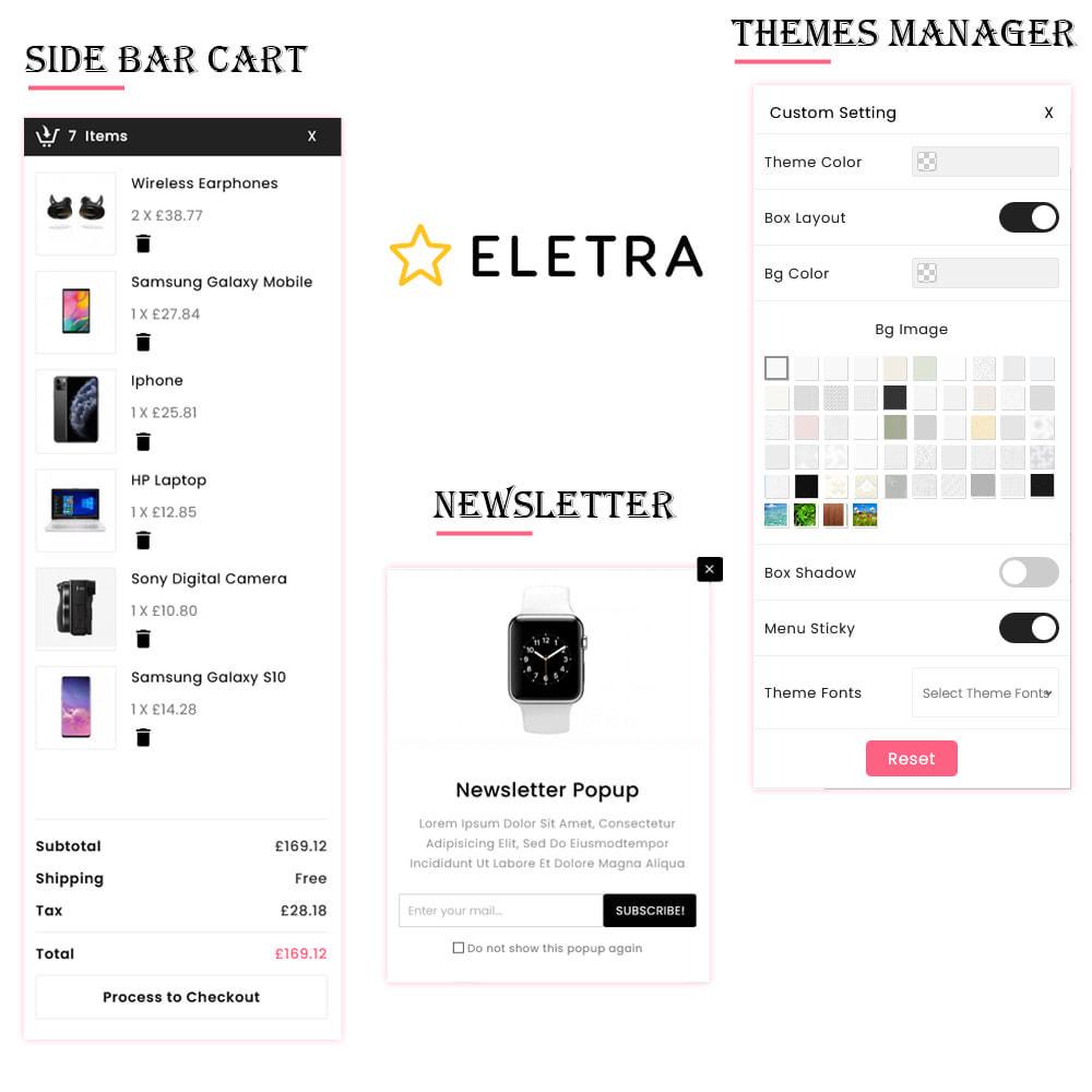 theme - Eletrônicos & High Tech - Eletra Electronic Store - 7