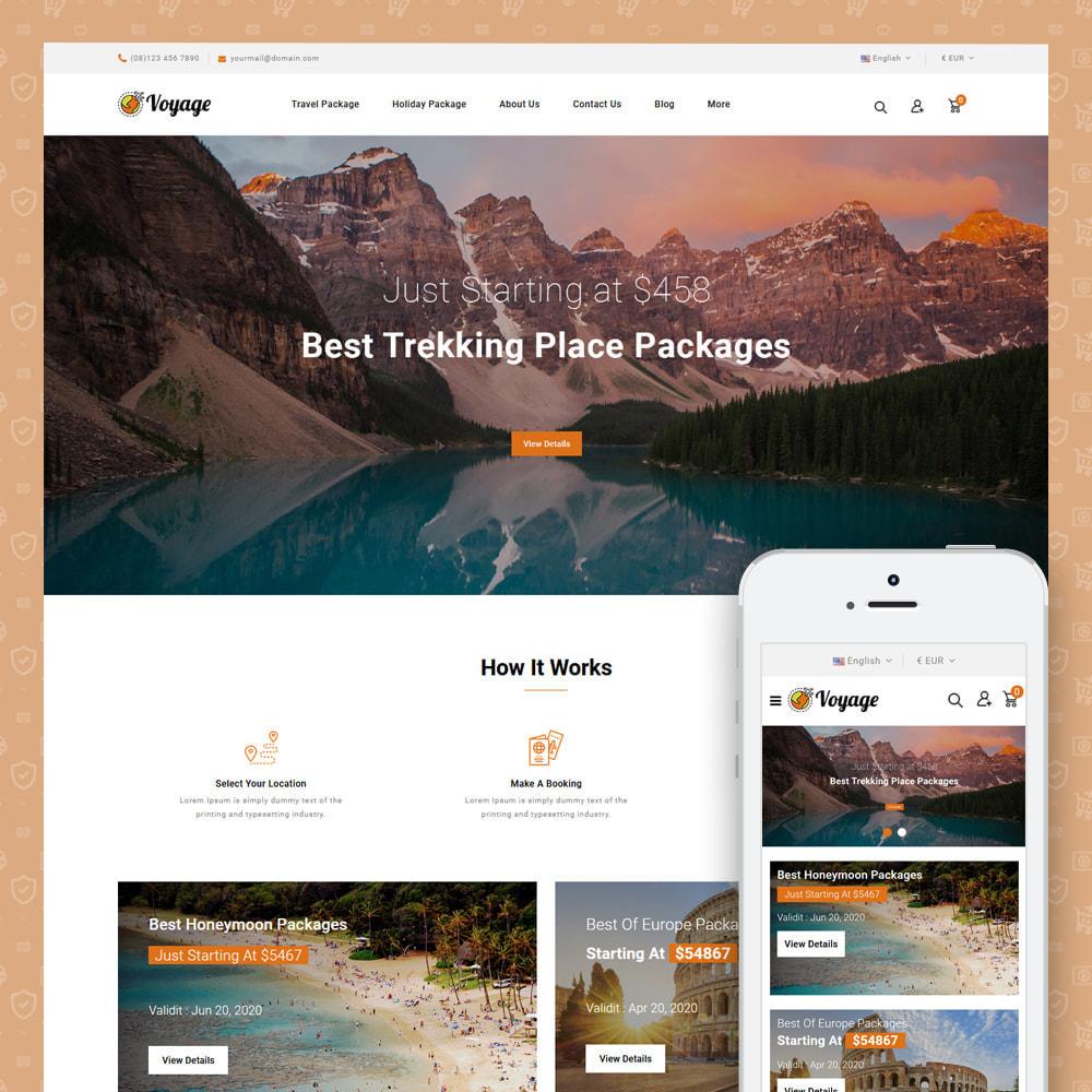 theme - Sport, Attività & Viaggi - Voyage - Travels Store - 1