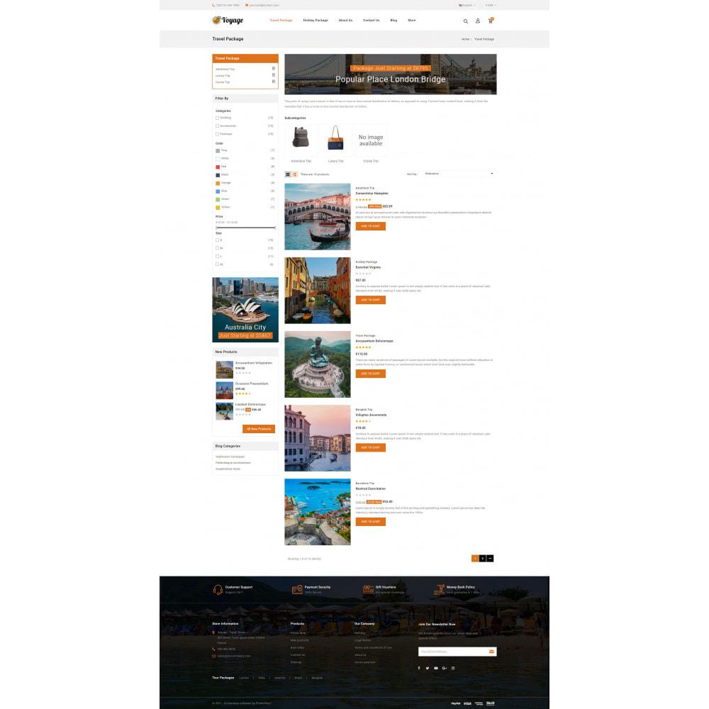 theme - Sport, Attività & Viaggi - Voyage - Travels Store - 4