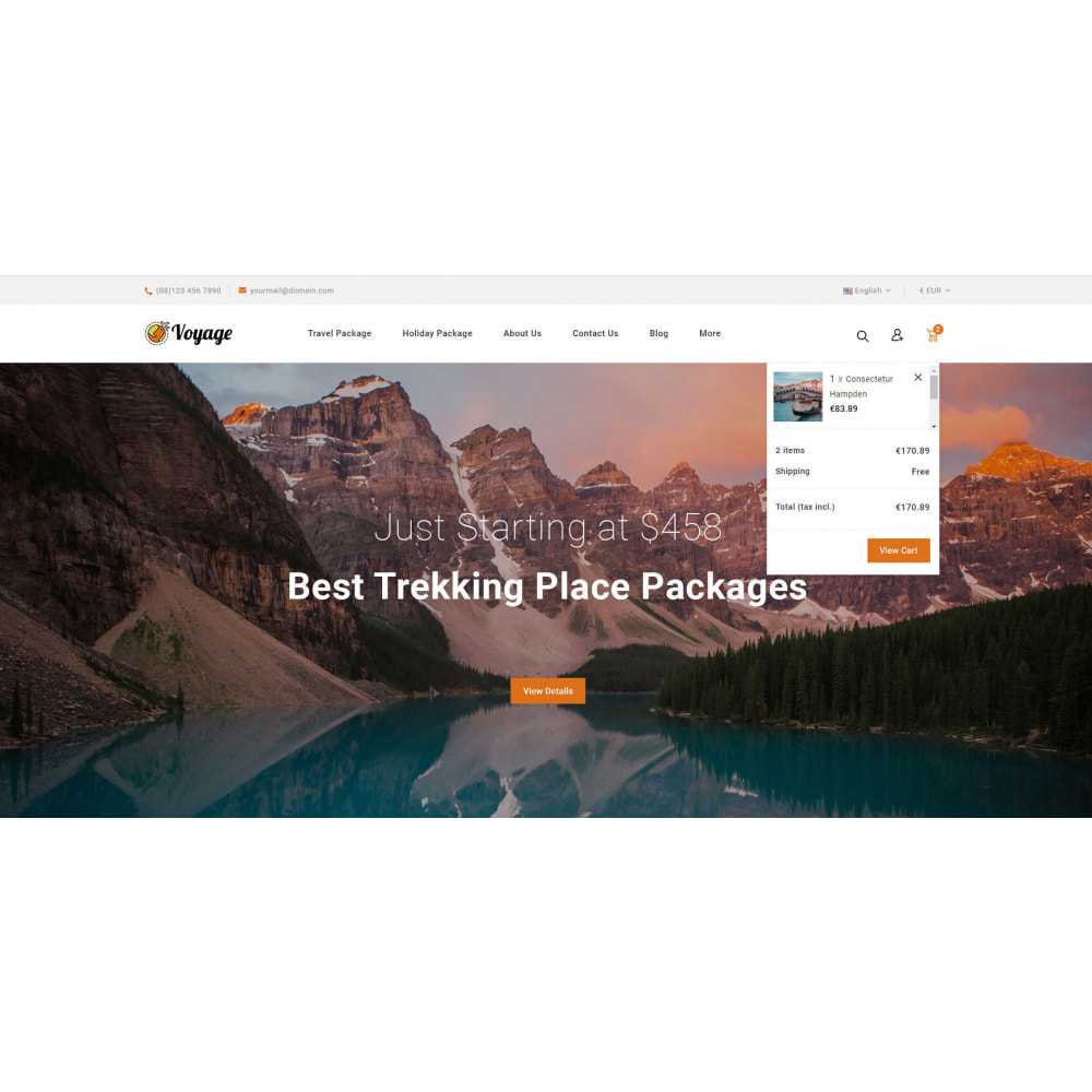 theme - Sport, Attività & Viaggi - Voyage - Travels Store - 7