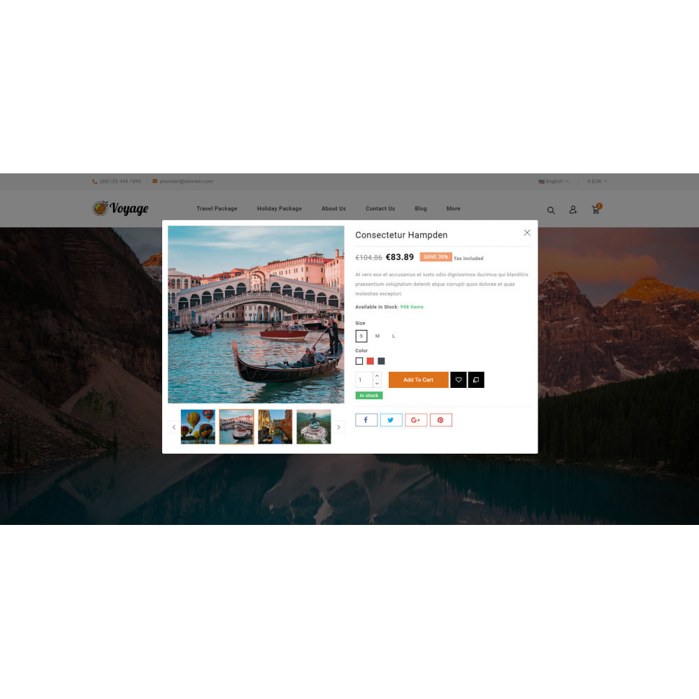 theme - Sport, Attività & Viaggi - Voyage - Travels Store - 8