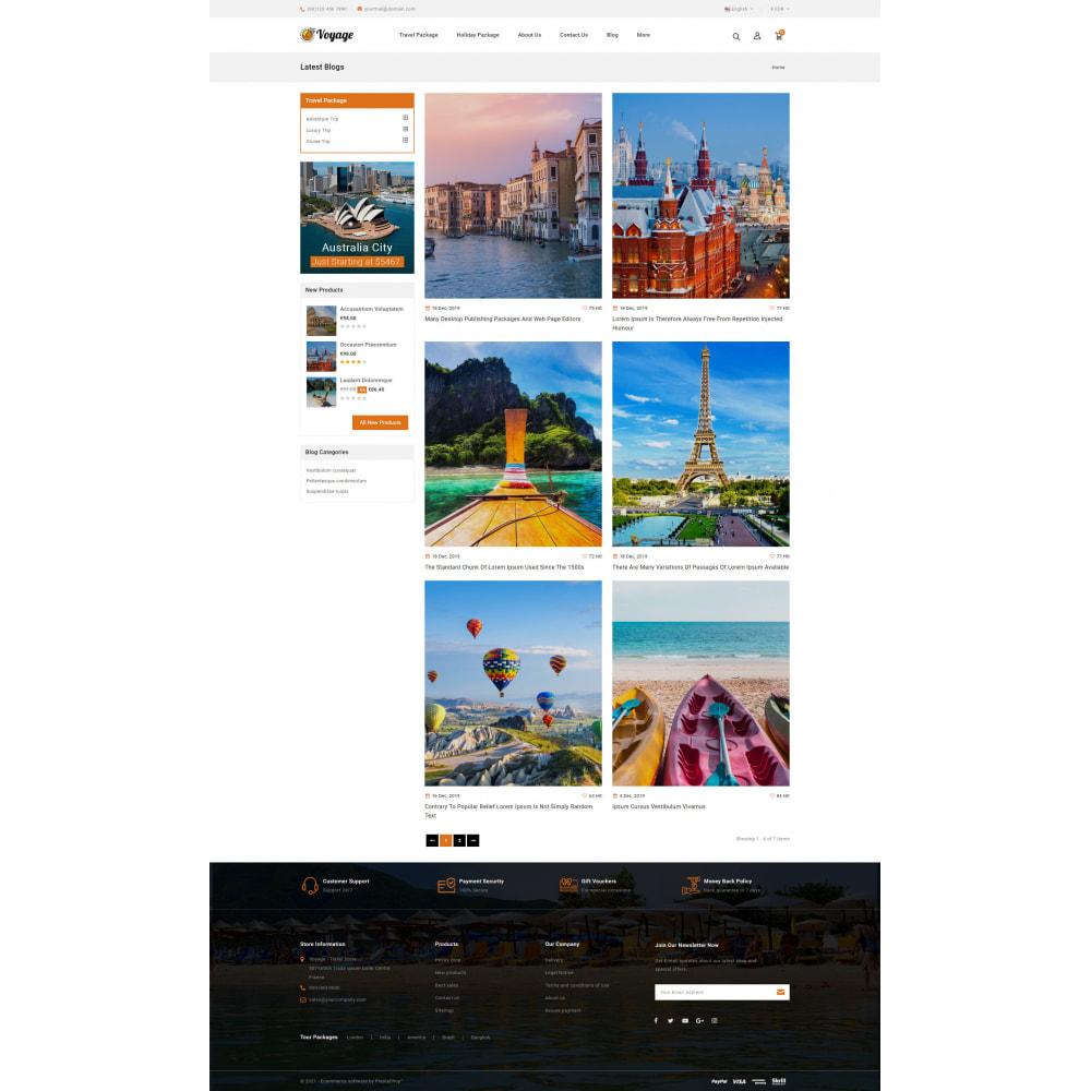theme - Sport, Attività & Viaggi - Voyage - Travels Store - 9