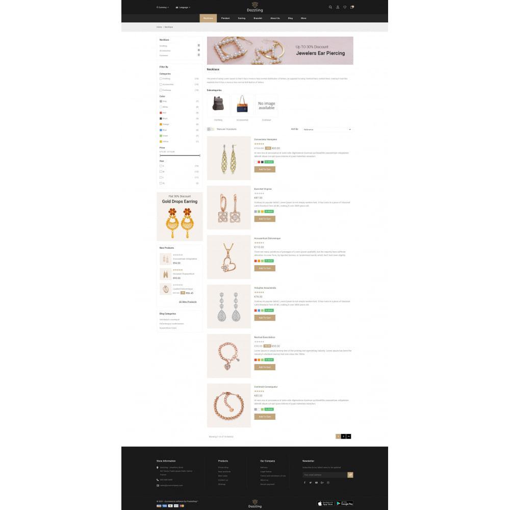 theme - Jewelry & Accessories - Dazzling - Golden Jewelry Store - 4
