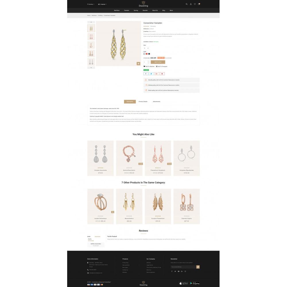 theme - Jewelry & Accessories - Dazzling - Golden Jewelry Store - 5