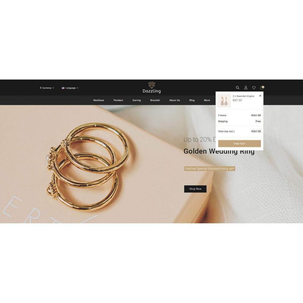 theme - Jewelry & Accessories - Dazzling - Golden Jewelry Store - 6