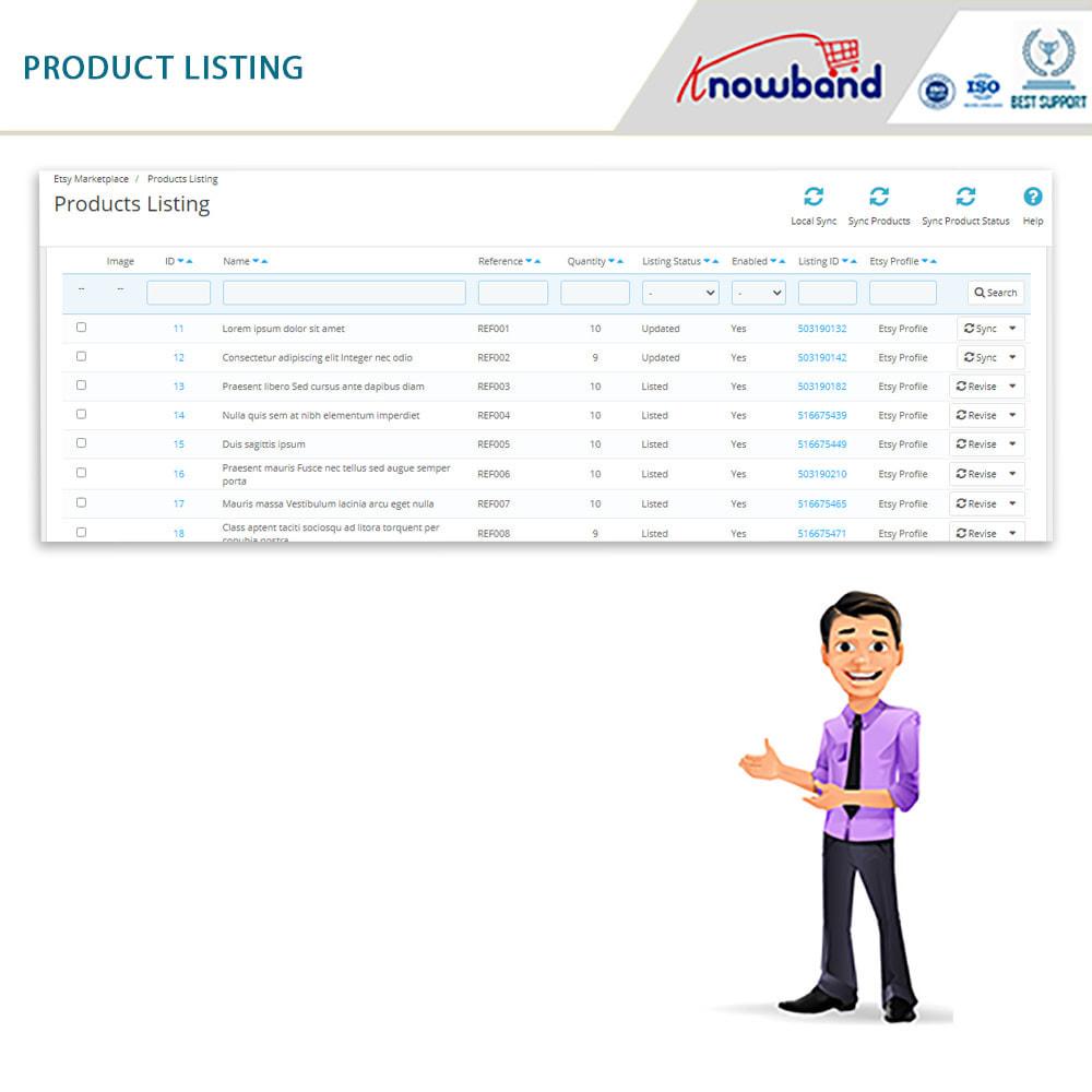 module - Marktplaats (marketplaces) - Etsy Marketplace Integration - 7