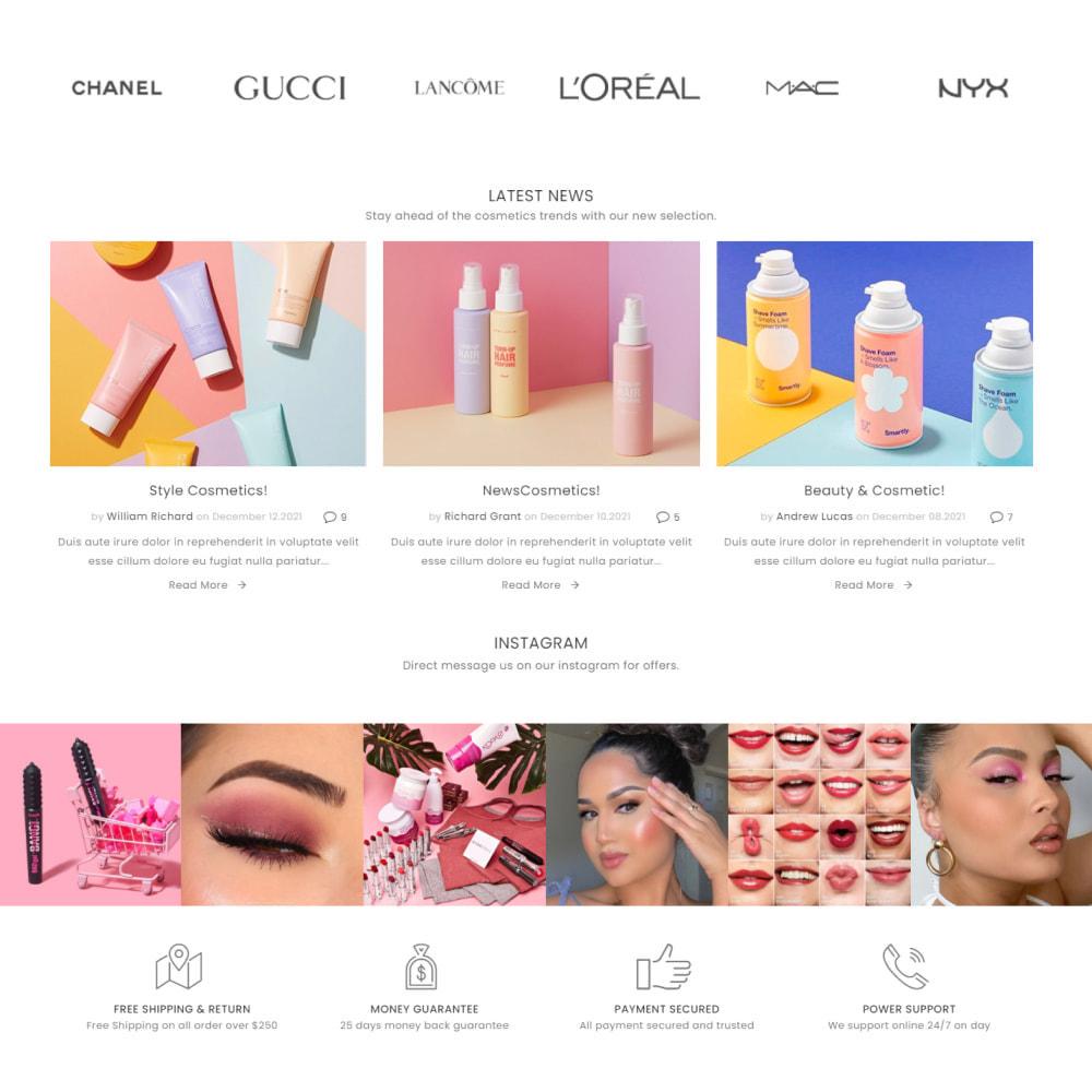 theme - Santé & Beauté - Cosmetics - Health & Beauty, Medicine, Drug, Art - 4
