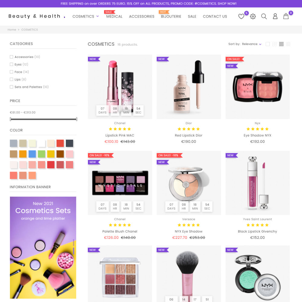 theme - Santé & Beauté - Cosmetics - Health & Beauty, Medicine, Drug, Art - 5