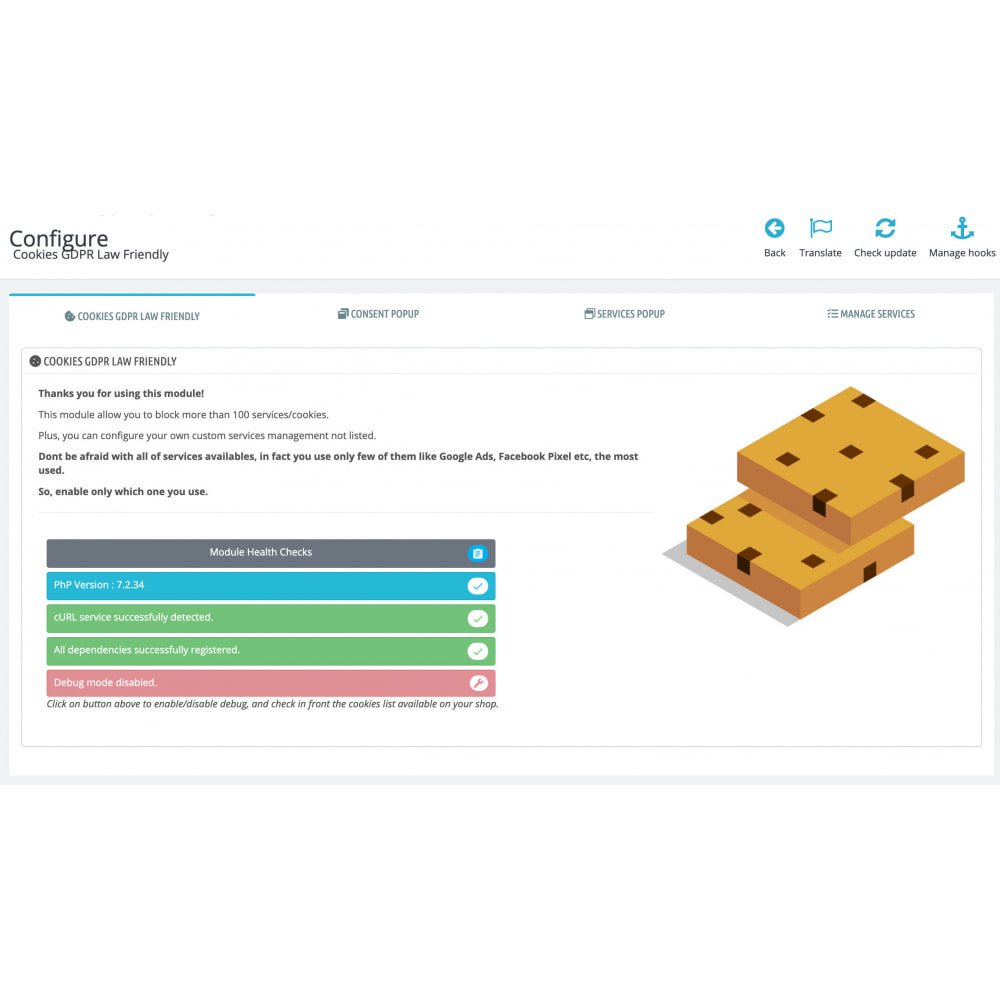 module - Legal - Cookies GDPR Law Friendly - 3