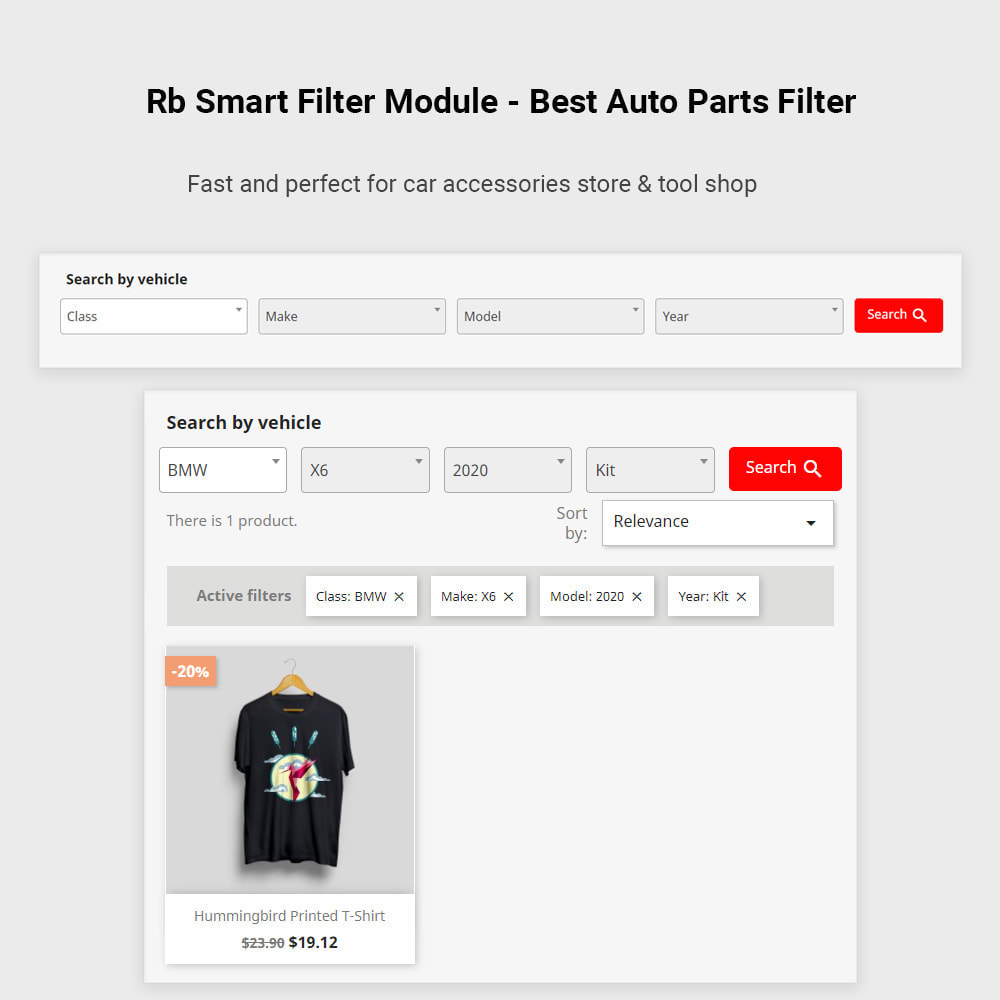 module - Search & Filters - Rb Smart Filter  -  Auto Parts Filter & Car Accessories - 2